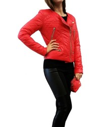 Hotel Particulier Red Puffer Jacket