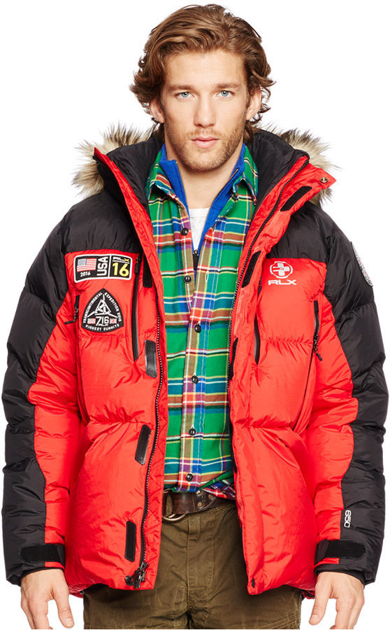 Polo Ralph Lauren Rlx Expedition Down Jacket | Where to buy & how ...