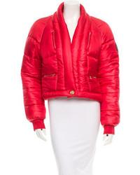 Chanel Silk Puffer Coat