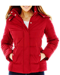 jcpenney St Johns Bay St Johns Bay Hooded Puffer Jacket
