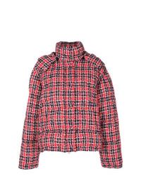 Gucci Tweed Puffer Jacket