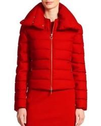 Akris Punto Wool Flannel Puffer Jacket