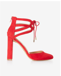 Express Looped Lace Up Pump