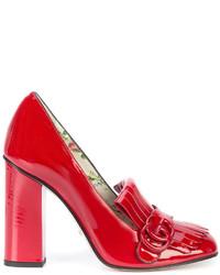 Gucci Marmont High Heel Pumps