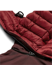 Burberry Brit Faille Panelled Quilted Down Gilet