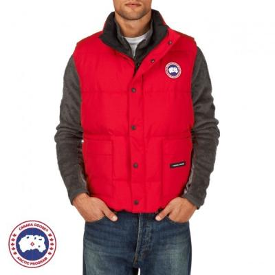 Canada Goose Freestyle Vest Gilet Red