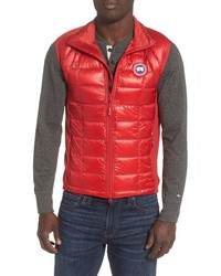 Canada Goose Hybridge Lite Slim Fit Packable Quilted 800 Fill Down Vest