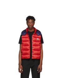 Moncler Red Down Billecart Vest