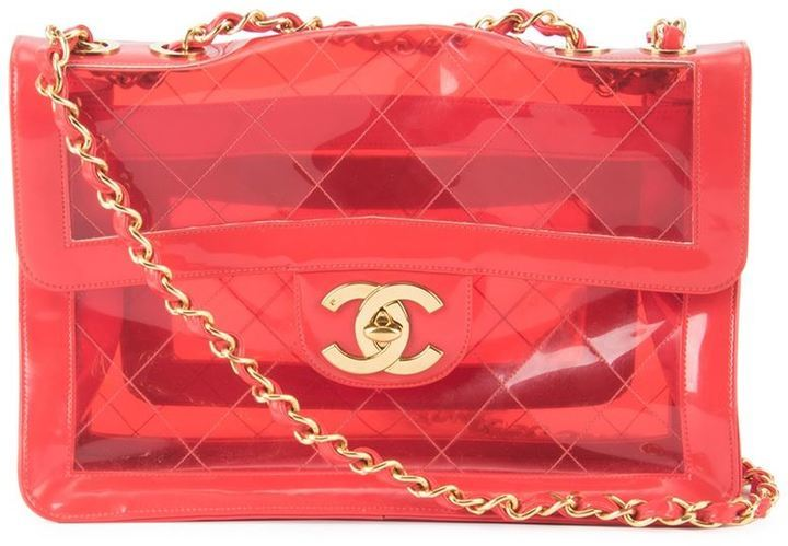 d5565eeab4eb Chanel Vintage Jumbo Quilted Chain Shoulder Bag, $9,289 | farfetch ...