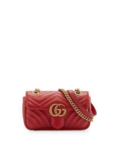b24d652a883 Gucci Gg Marmont Matelass Mini Bag Red, $1,590 | Neiman Marcus ...