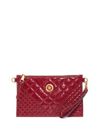 Versace First Line Versace Tribute Patent Leather Crossbody Pouch