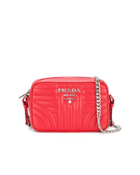 Prada Bevelled Leather Cross Body Bag