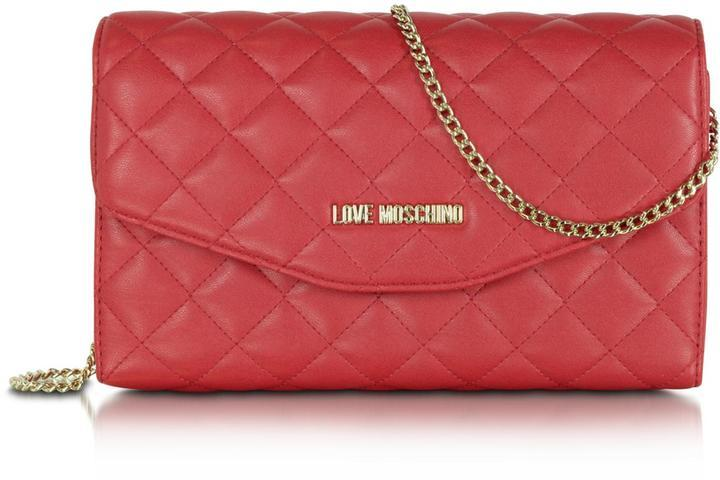 02c1b78713fdf ... Quilted Leather Crossbody Bags Love Moschino Call Us