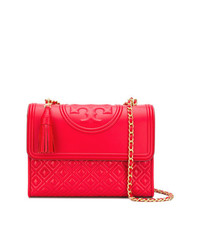 Tory Burch Embossed Logo Shoulder Bag