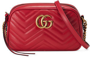 9c2e9f75b979 Gucci Gg Marmont Small Quilted Camera Bag, $1,250 | Neiman Marcus ...