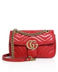 Gucci Gg 20 Mini Quilted Leather Shoulder Bag