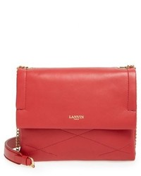 Lanvin Mini Sugar Quilted Lambskin Leather Crossbody Bag