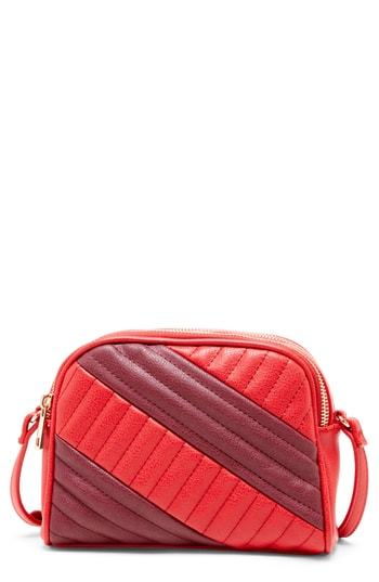 Sole Society Linza Faux Leather Crossbody Bag