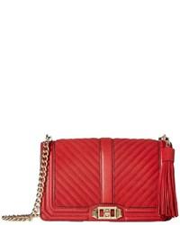 Rebecca Minkoff Love Crossbody With Tassel Cross Body Handbags