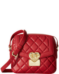 Love Moschino Quilted Emblem Crossbody
