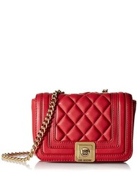 Love Moschino Quilted Mini Flap Cross Body Bag
