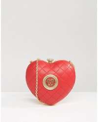 Love Moschino Structured Heart Cross Body Bag