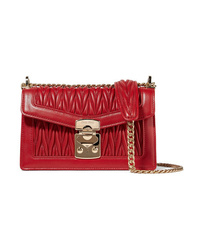Miu Miu Matelass Leather Shoulder Bag