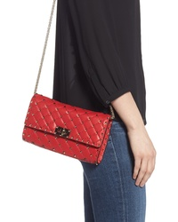Valentino Garavani Matelasse Quilted Leather Crossbody Bag