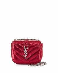 Saint Laurent Monogram Micro Quilted Leather Crossbody Bag Elect