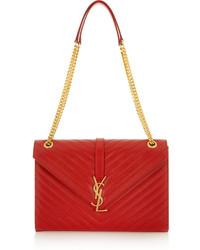 Saint Laurent Monogramme Large Quilted Leather Shoulder Bag