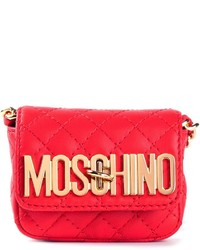 Moschino Mini Quilted Cross Body Bag