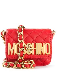 Moschino Mini Quilted Crossbody Bag