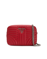 Prada Quilted Effect Shoulder Bag