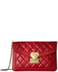 Love Moschino Quilted Envelope Crossbody Cross Body Handbags