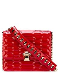 Roberto Cavalli Quilted Python Effect Cross Body Bag