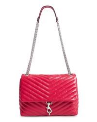 Rebecca Minkoff Edie Flap Front Leather Shoulder Bag