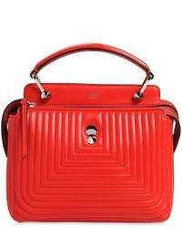 Fendi small dotcom quilted leather bag medium 536296