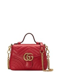 Gucci Marmont 20 Leather Bag