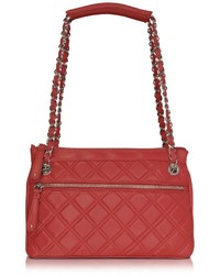 Quilted leather shoulder bag medium 393294