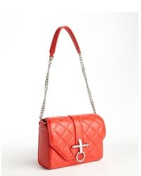Givenchy Scarlet Red Quilted Lambskin Obsedia Shoulder Bag