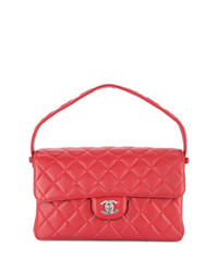 Chanel Vintage Turn Lock Double Face Bag