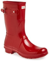 Original short gloss rain boot medium 963121