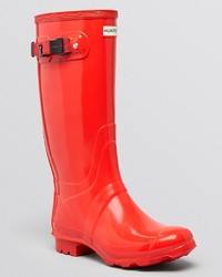 Hunter Rain Boots Huntress Extended Calf Glossy