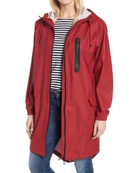 Kristen Blake Hooded Rain Topper Jacket