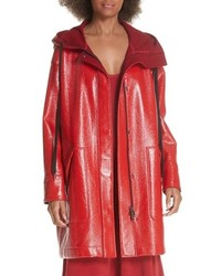Elizabeth and James Varick Hooded Raincoat