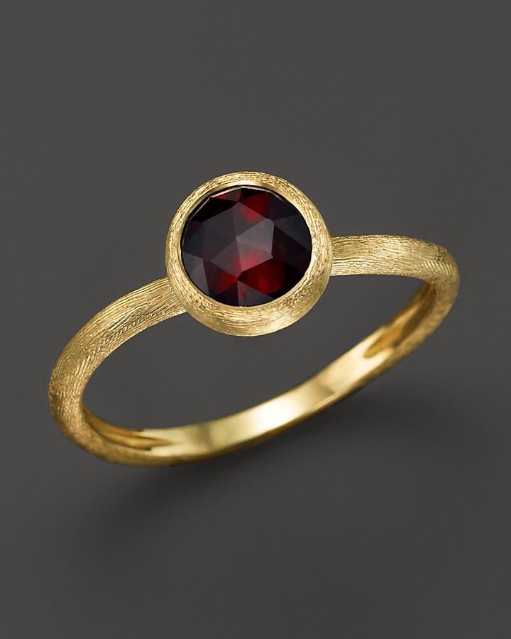 Marco Bicego Jaipur Garnet Stackable Ring 6Eh12L