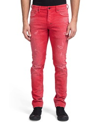 PRPS Le Sabre Ripped Slim Fit Jeans