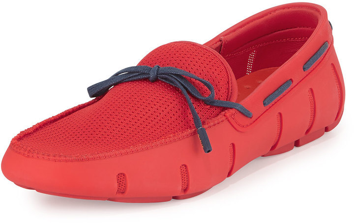 73f6227acf1e ... Shoes Swims Braided Bow Water Resistant Loafer Redblue ...