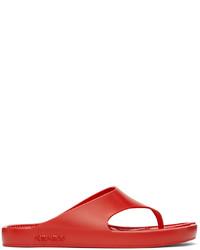 Kenzo Red K Beach Flip Flops