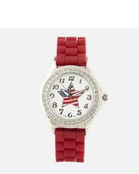 Red Rubber Watch